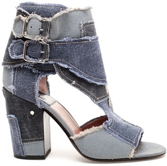 Laurence Dacade: Shoes, Fashion, Bizarros Laurence Dacade, Dacade Denim, Denim Heels, Buckled Denim, Denim Shoes, Dacade Rush