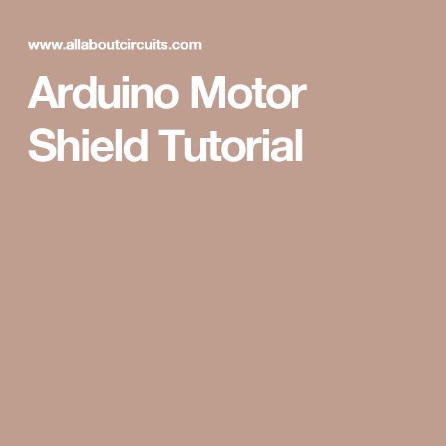 Best 25 Arduino Motor Ideas On Pinterest
