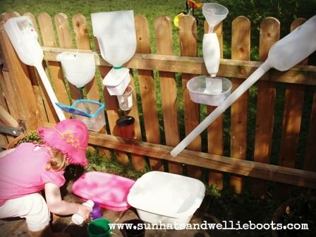 Sun Hats  Wellie Boots: Outdoor Water Play - Construction Area