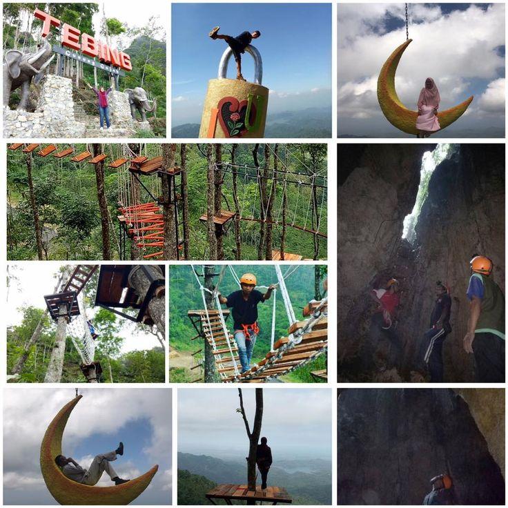 tebing gunung gajah kulon progo yogyakarta obyek wisata terbaru di jogja