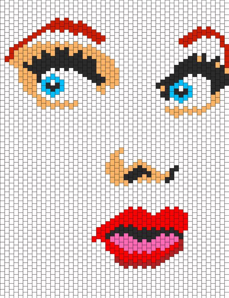 Lucille Ball bead pattern