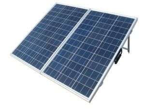 portable solar panels and kit for boondocking