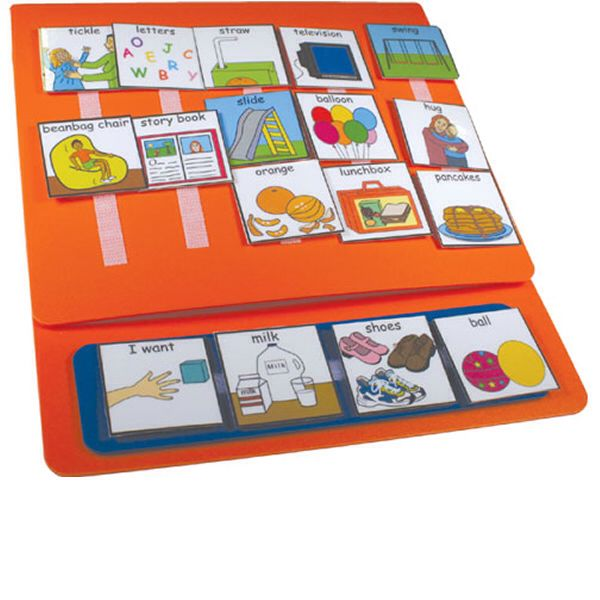 Pecks boards in each class for children with speech and language delay which will encourage and support tinier learning