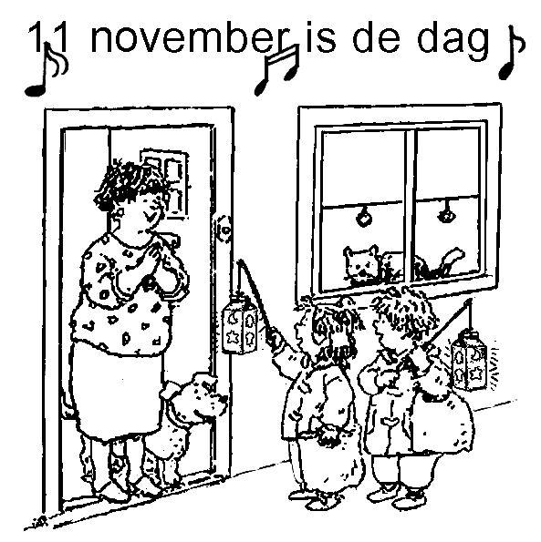 11 november kleurplaat