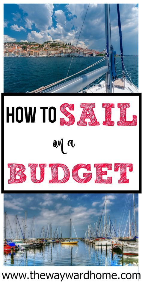 The cost of cruising and living aboard a sailboat full-time doesn't have to break the bank. Check how one couple sails on a budget! | cruising | sailboat live aboard | live aboard boat | cruising yacht | Bluewater yacht