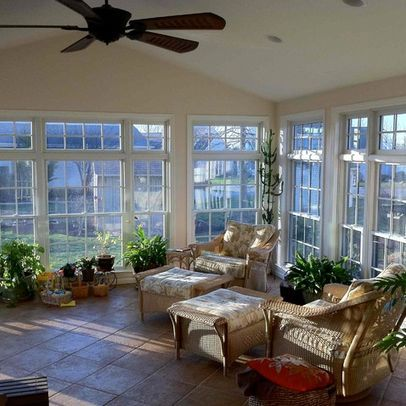 25 best sunroom decorating ideas on pinterest sun room for Small home addition ideas