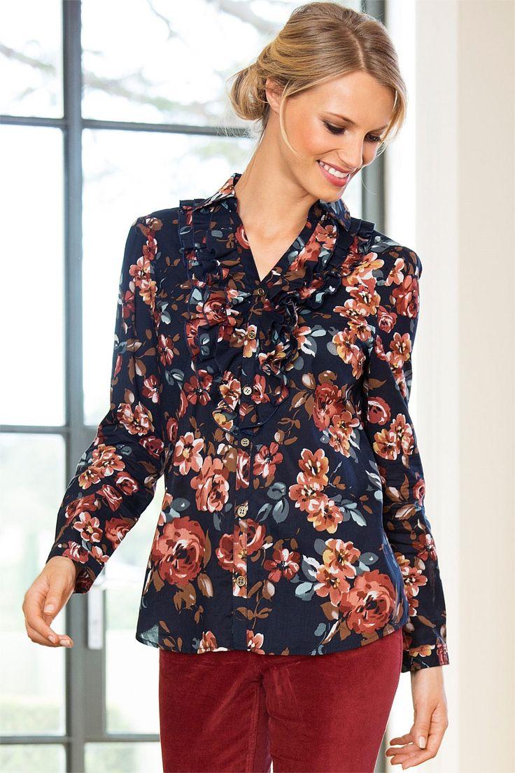 Tops - Capture Floral Print Shirt - BIG W