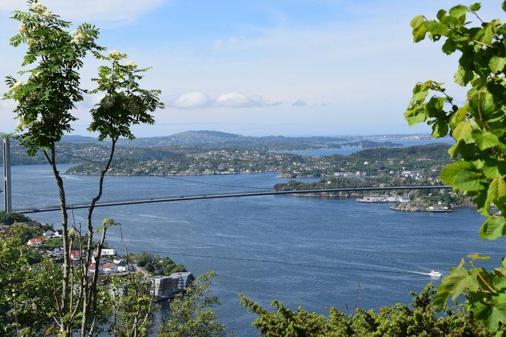 https://flic.kr/p/VnBi9A | View from Kvarven / Bergen / Norway | en.wikipedia.org/wiki/Kvarven_Fort