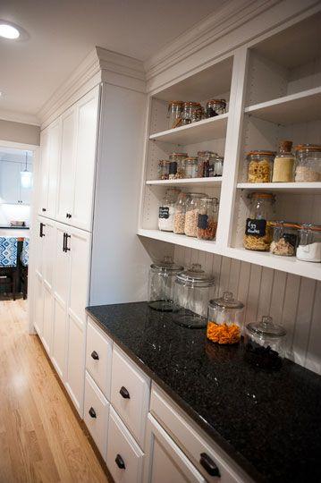 16 Best Pantries Images On Pinterest Organized Kitchen
