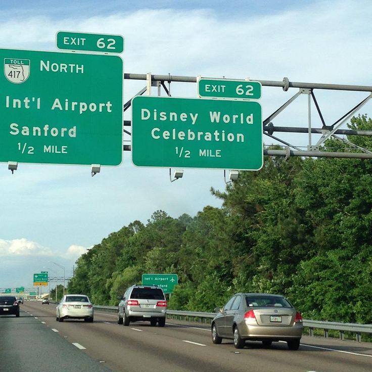 caminho para a Disney