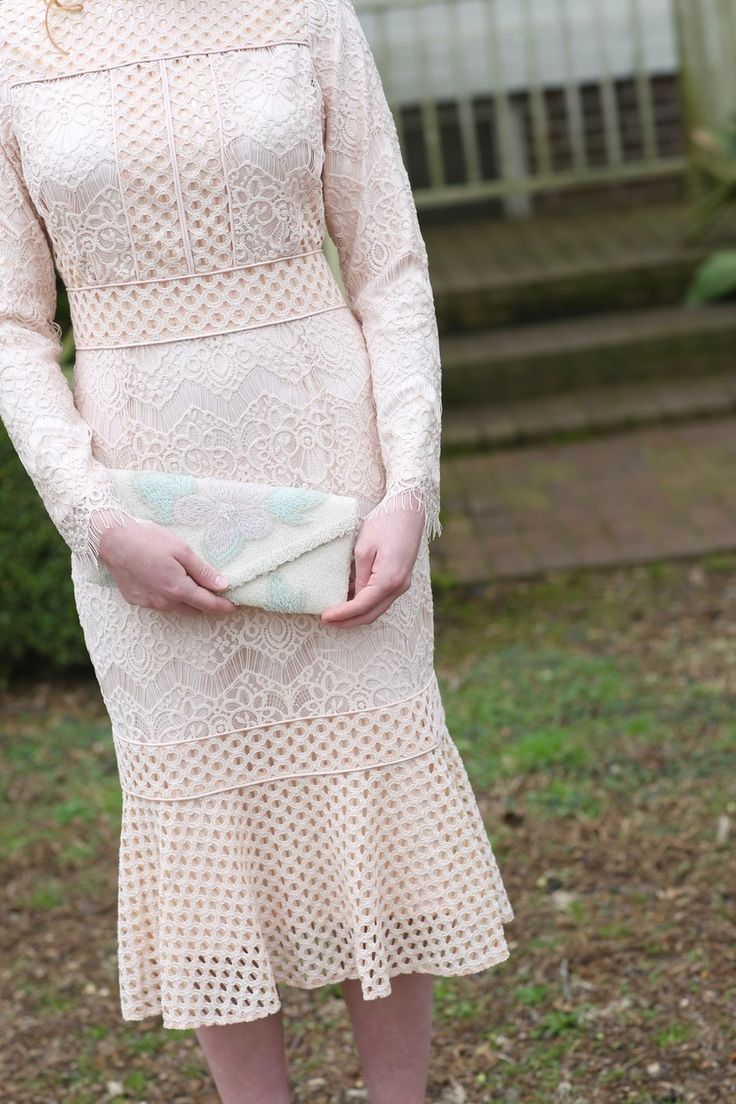 Modest Fashion | Modest Bridesmaid Dresses | Blush Pink Sweet Peony Dress by Dainty Jewell's Modest Apparel | Spring 2017 Collection