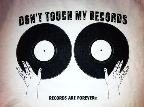 """""""Don't you ever touch my records, if you want me to play them back to you."""" f. wolff"""