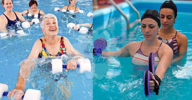 Incrível! Fisioterapia aquática: saiba tudo sobre esta atividade, incluindo os seus benefícios! - # #fisioterapia #terapiadaágua