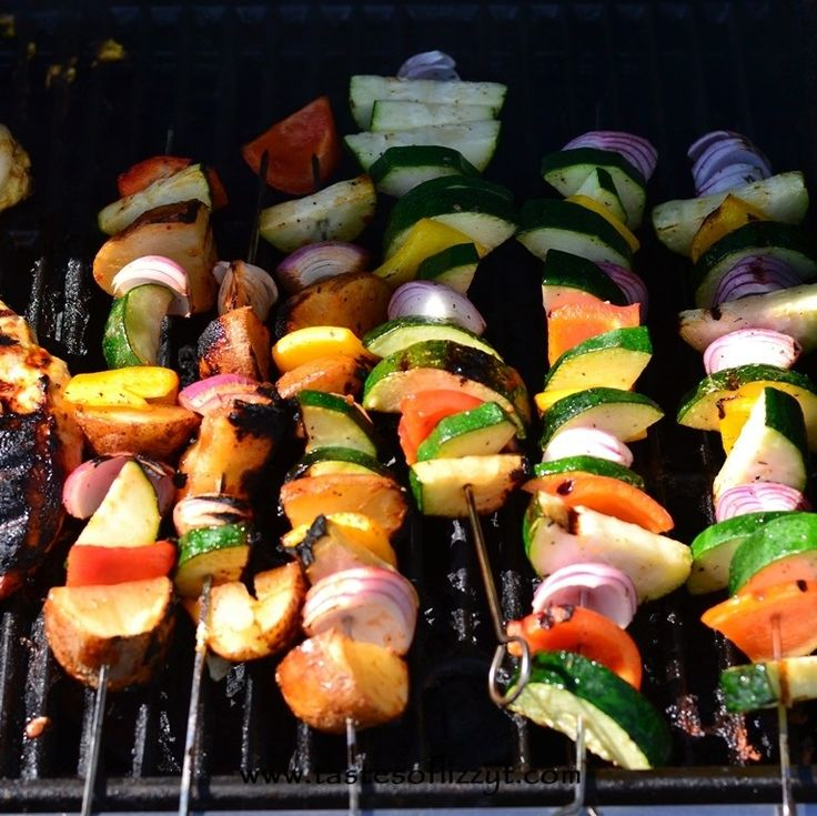 Italian Barbecue Grilled Vegetable Marinade {Tastes of Lizzy T}
