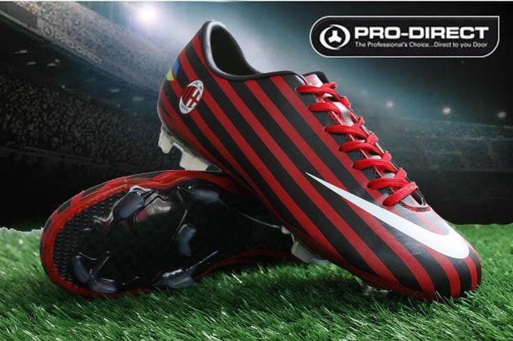 Nike Mercurial Vapor VIII A C Milan FG football boots