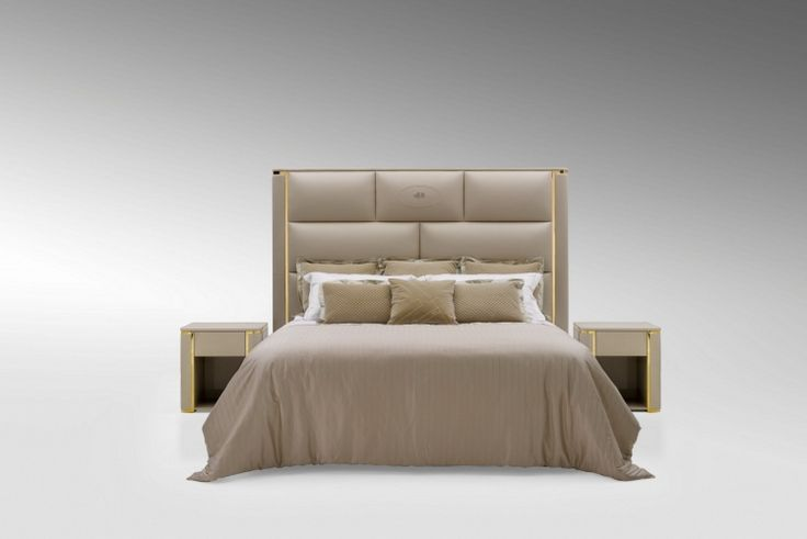 3 Ff Montgomery Bed And Mercury Bedside Tables 01 Jpg 2016 Fendi Casa Pinterest Fendi