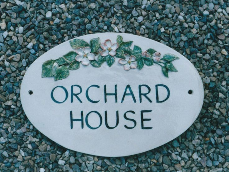 House name plaques