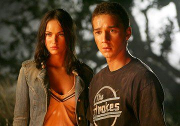 Megan Fox and Shia LaBeouf in 'Transformers'