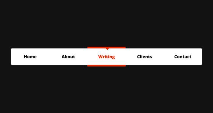 Анимированный индикатор выбранного пункта меню на чистом #css https://css-tricks.com/creating-an-animated-menu-indicator-with-css-selectors #ui #ux