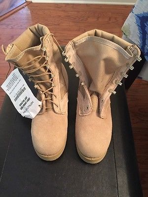 ARMY Desert Combat Boots 7.5R TAN Military Hot Weather VIBRAM NEW W/TAGS  | eBay