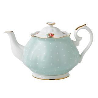 Royal Albert Polka Rose Vintage Teapot