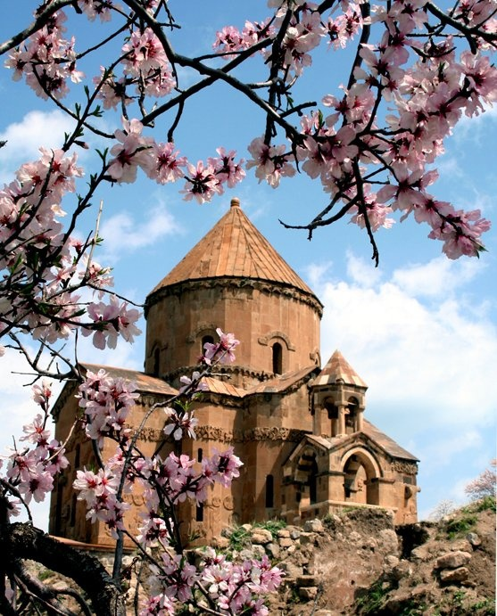 armenian cathedral in spring...Lived there two years. Loved it ➰ quaint little church