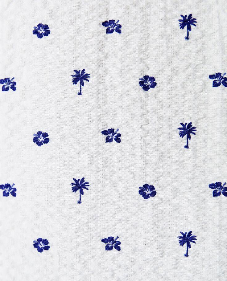 Image 5 of SEERSUCKER SHIRT from Zara