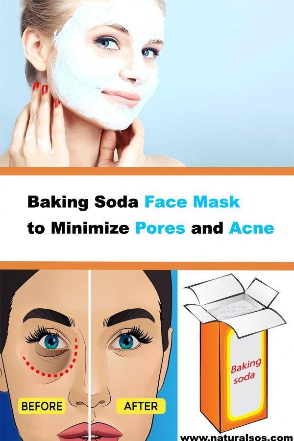 Baking Soda Face Mask To Minimize Pores And Acne Acne Pores