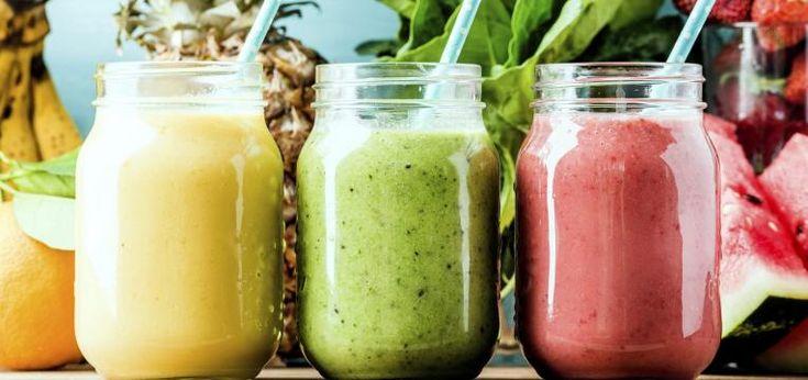 TOP 10: Zdrowe przekąski na lato - smoothie