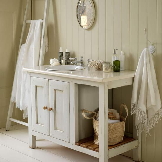 Cottage vanity unit cottage style bathroom vanities for Cottage bathroom ideas renovate
