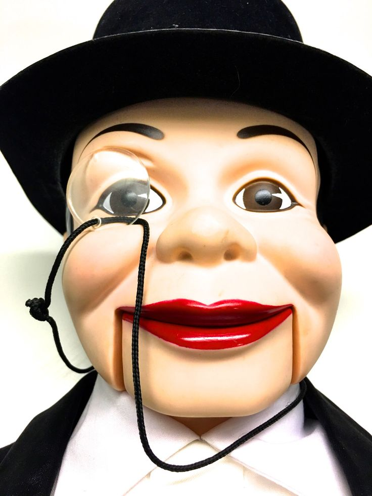 Ventriloquist Dummy Doll, Charlie McCarthy Doll - WORKING by vintagetoolbox on Etsy https://www.etsy.com/listing/523263045/ventriloquist-dummy-doll-charlie