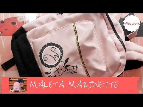 /DIY LADYBUG/COMO HACER LA MALETA DE MARINETTE/TUTORIAL MORRAL MARINETTE - YouTube