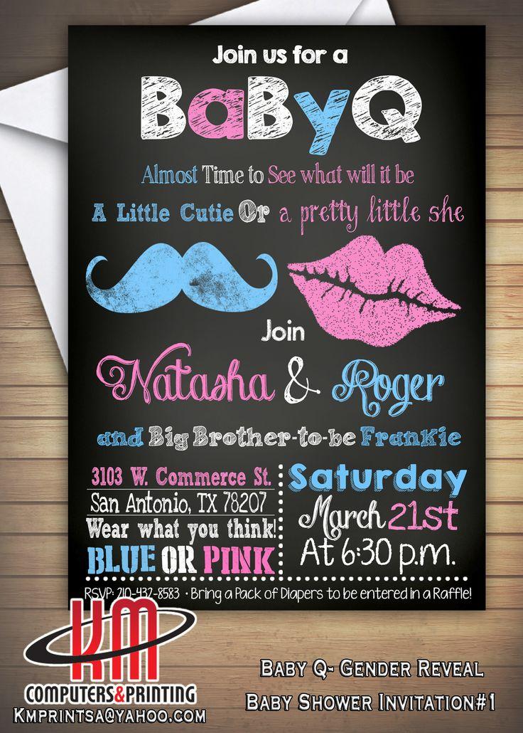 Baby shower Baby Q Bar B Que