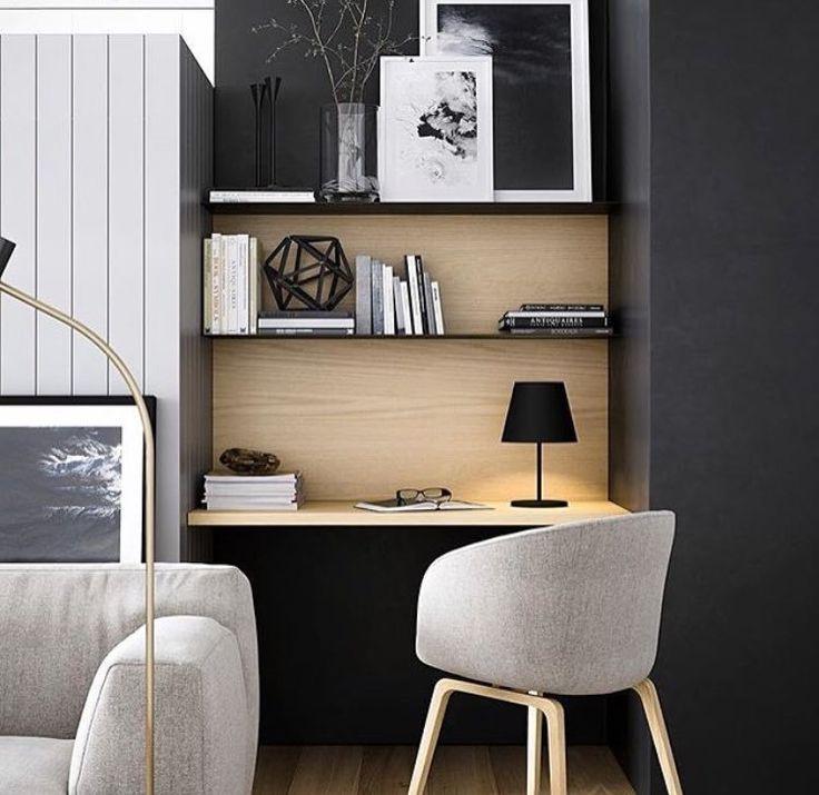 minimalist work area