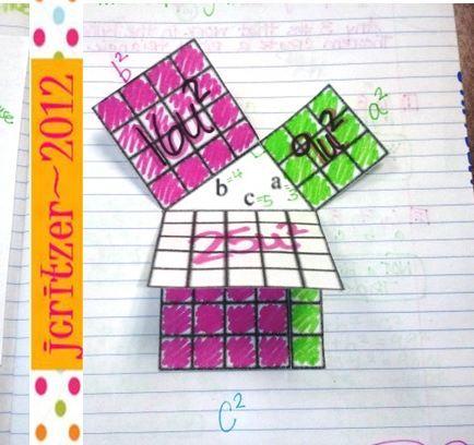 I've got a foldable for that!: Pythagoras, O Pythagoras!