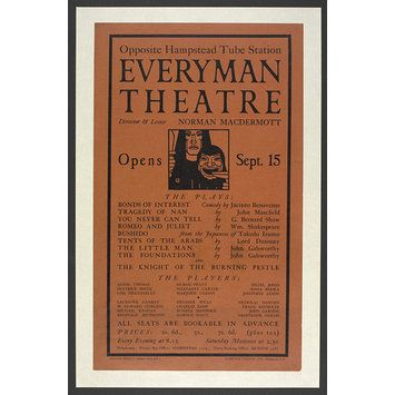 Poster - Everyman Theatre poster