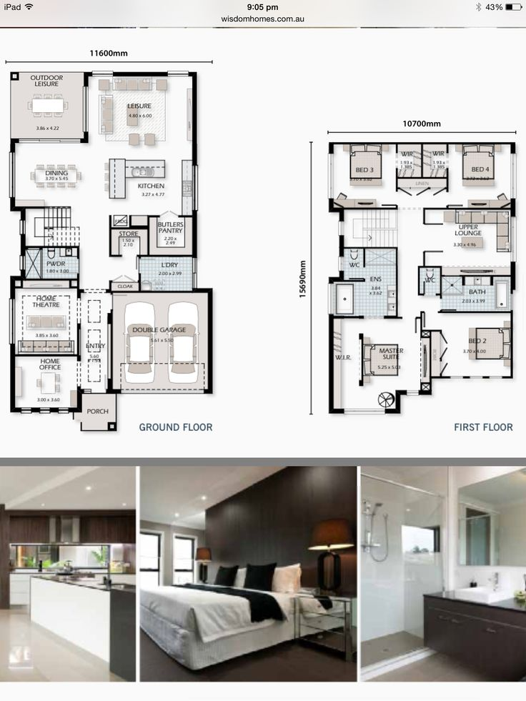 Wisdom Homes. Majestic 40 floor plans