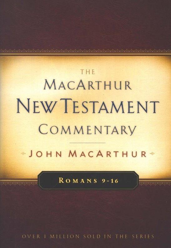 Comt-Romans 9-16 (MacArthur Bible Studies)