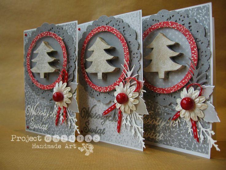 Project Gallias, Christmas card with christmas tree