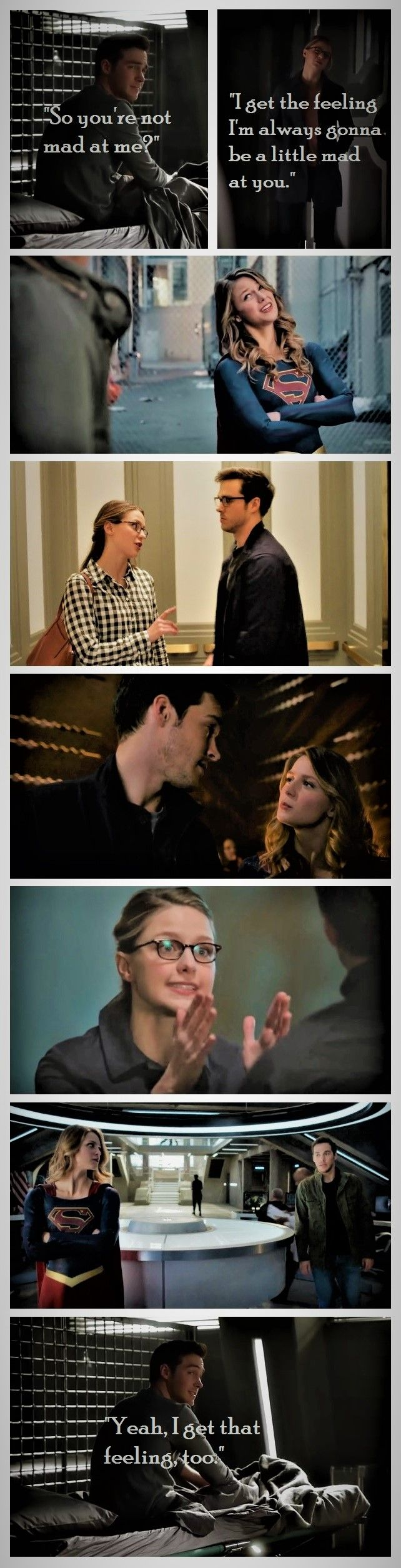 Kara and Mon-El never fail to entertain me. I love that his character stretches hers in ways no one else has/shakes up her perfect, boring routine, and she keeps him honest <3 |TV Shows||CW||#Supergirl edit||Season 2||2x05||2x06||2x09||2x10||Kara x Mon-El||#Karamel||Kara Danvers||Melissa Benoist||Chris Wood|