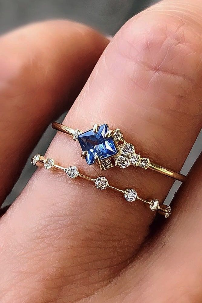 Gemstone Engagement Rings For A Unique Woman ★ #engagementring #proposal