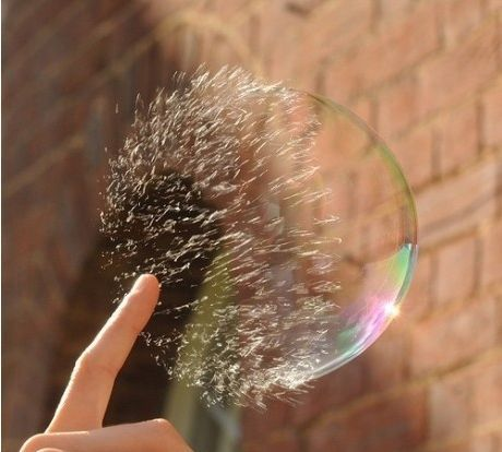 Popping a Bubble: Photos, Soaps Bubbles, Art, Speed Photography, Bubbles Burst, Pictures, Bubbles Pop, High Speed, Shutters Speed