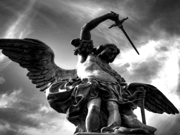 Saint Michael the Archangel, Patron of Justice and of These Stone Walls.