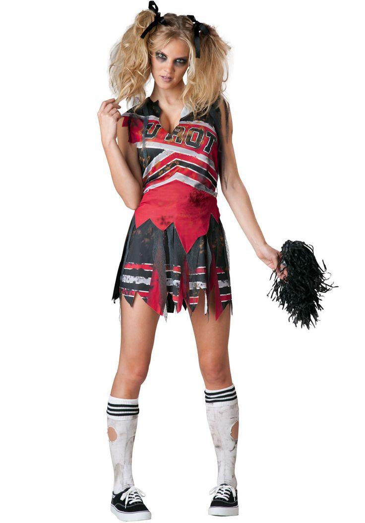 Adult Zombie Spiritless Cheerleader Costume - Halloween Costumes at Escapade™ UK - Escapade Fancy Dress on Twitter: @Escapade_UK