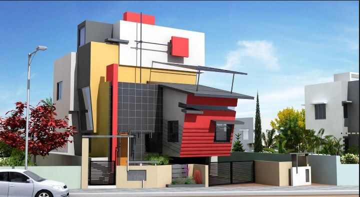 ICYMI: front elevation indian house designs