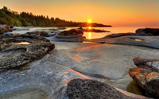 """BC has a piece of my heart. """"Sent to Heal"""" Hornby Island, British Columbia by Ireena Eleonora Worthy, via Flickr"""