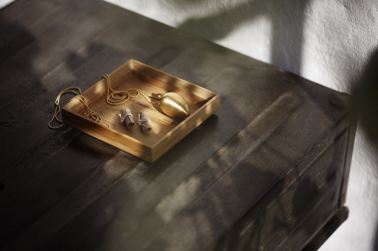 Drop i børstet guld + affirmationsruller www.cahana.dk