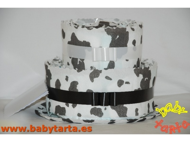 Baby Tarta VACA- 2 pisos