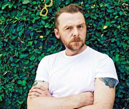 Simon Pegg. Because you can be funny, geeky and sexy all at once.