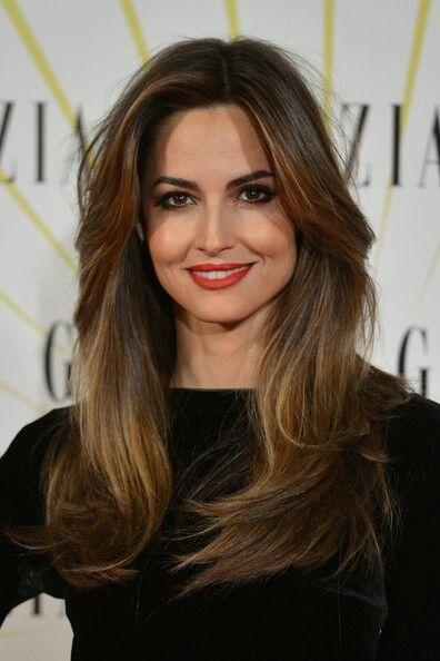 Ariadne Artiles hair with volume